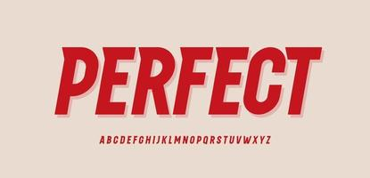 alfabeto en negrita estrecho. fuente dinámica deportiva con serif tiangle moderno, tipo de velocidad vintage para logotipo, título, letras y tipografía. letras altas y elevadas, diseño tipográfico vectorial vector