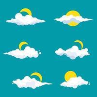 Cloud cartoon Vector design illustration
