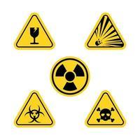 Warning Vector icon design illustration