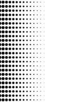 Fondo de patrón de estilo punteado monocromo vector