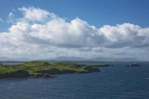 Irish coastline near Killybegs, County Donegal in Ireland photo