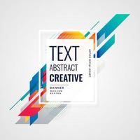 creative bright colorful abstract background vector