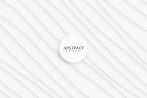 minimal smooth wavy lines white background vector