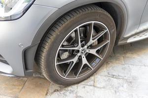 rim of a sports car photo