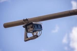 cámaras para control de tráfico peatonal foto