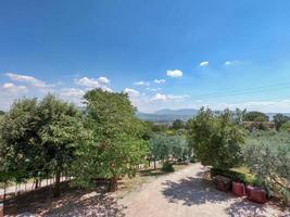 paisaje de montaña de la montaña de cesi foto
