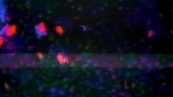 Retro 80s 90s Dynamic Wave Style and Old Screen Noise video