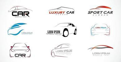 Set Of Car Logo vector