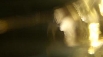 Golden Liquid Full Screen Light Leak video