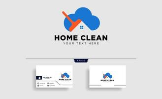 clean house or home creative logo template vector illustration icon element isolated  vector