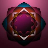 ilustration graphic vector of abstract flowers design