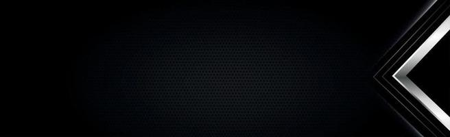 Perforated dark background with metal inserts vector
