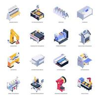 Pack of Machinery vector