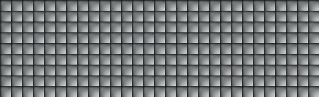 Abstract background with many gray black squares vector