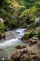 bridge of the bull Marmore waterfall photo