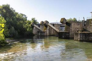polymer dam in the province of terni photo