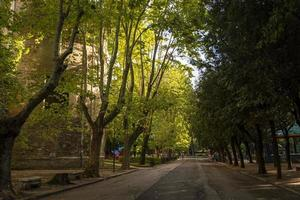 park of the walk in the center of terni photo