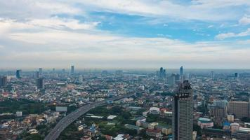 Beautiful architecture around Bangkok city in Thailand video