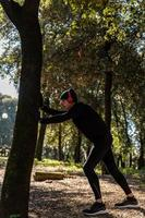 ragzzo does physical activity in the park photo