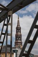 S t. Iglesia de Catalina en Hamburgo, Alemania. foto
