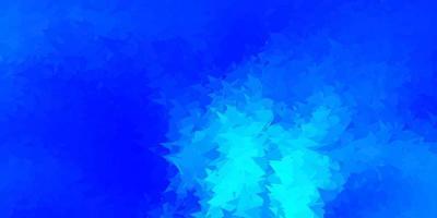 Light blue vector gradient polygon layout