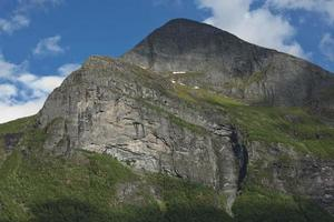 Landscape at Geiranger fjord in Norway photo
