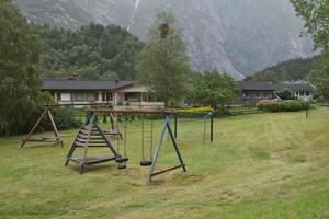 The village of Eidfjord in Norway photo