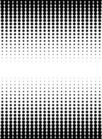 monochrome dotted style pattern background vector