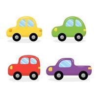 Cute Cars Vector