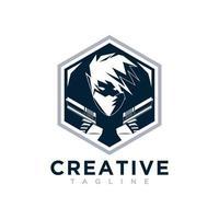 Police logo creative design vector free