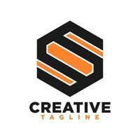 S letter logo free vector