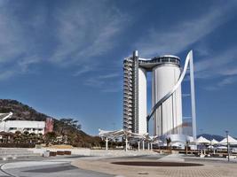 torre expo en la ciudad de yeosu. Corea del Sur foto