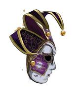Carnival venetian mask from a splash of watercolor, colored drawing, realistic. Vector illustration of paints