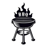 BBQ grill vector illustration
