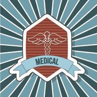 diseño de icono de logotipo médico vector