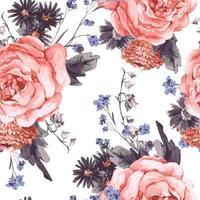 Vector art floral design