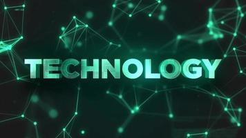 technologie numérique et concept d'entreprise pour le fond, résolution 4k video
