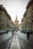 Clock Tower Zytglogge, City of Bern, Switzerland photo