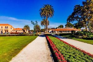 Un paseo por los jardines del gobierno, Rotarua, Nueva Zelanda foto