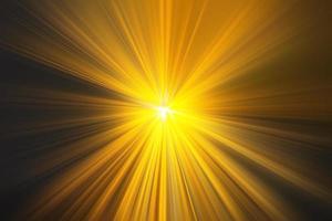 Light rays,  Golden yellow rays of light photo