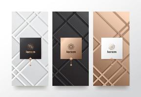 Vector set packaging templates