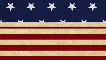 Vintage independence 4 July American day Background video