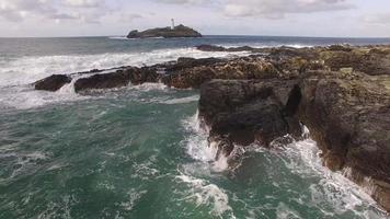 English sea side video