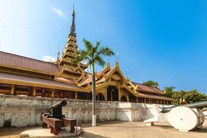 mandalay palacio de mandalay, en myanmar foto