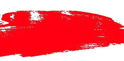 Red and White Paint Splash Background. Vector Illustration