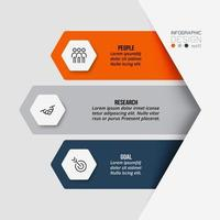 Work flow business infographic template. vector