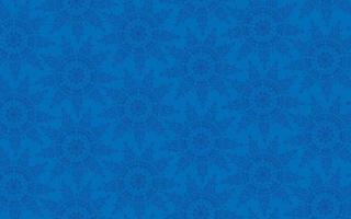 Winter blue abstract backdrop. Snowflakes seamless pattern, snow background. vector