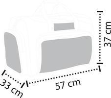 Comfortable Handle Sports Bag vector