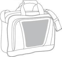 Notebook Bags Mock ups vector