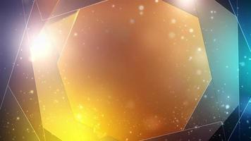 geometrische abstracte achtergrond, hi-tech digitaal concept. video
